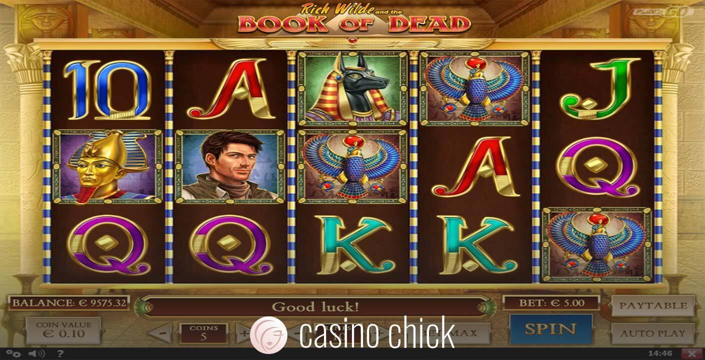 Book of Dead Slot Screenshots