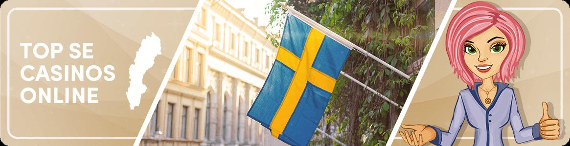 Top Swedish casinos online