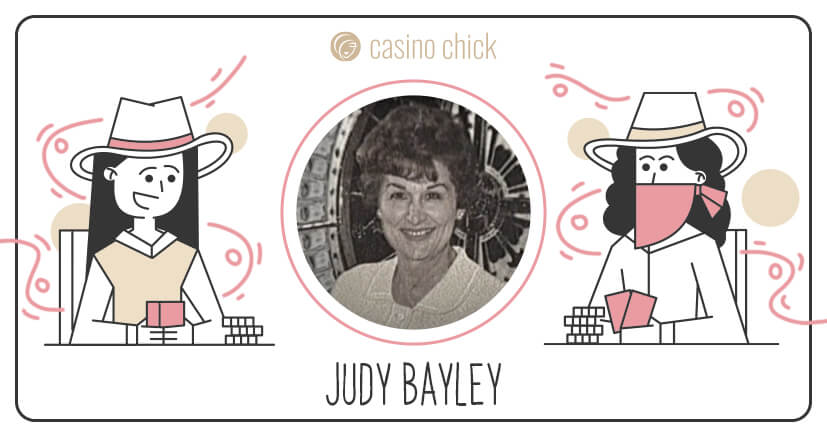 Judy Bayley smiling