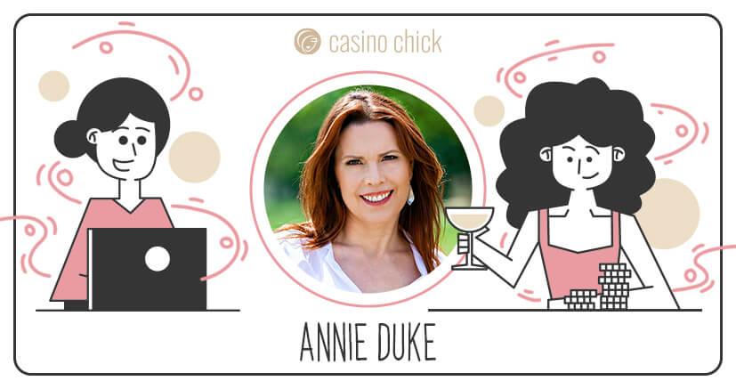 poker champ Annie Duke